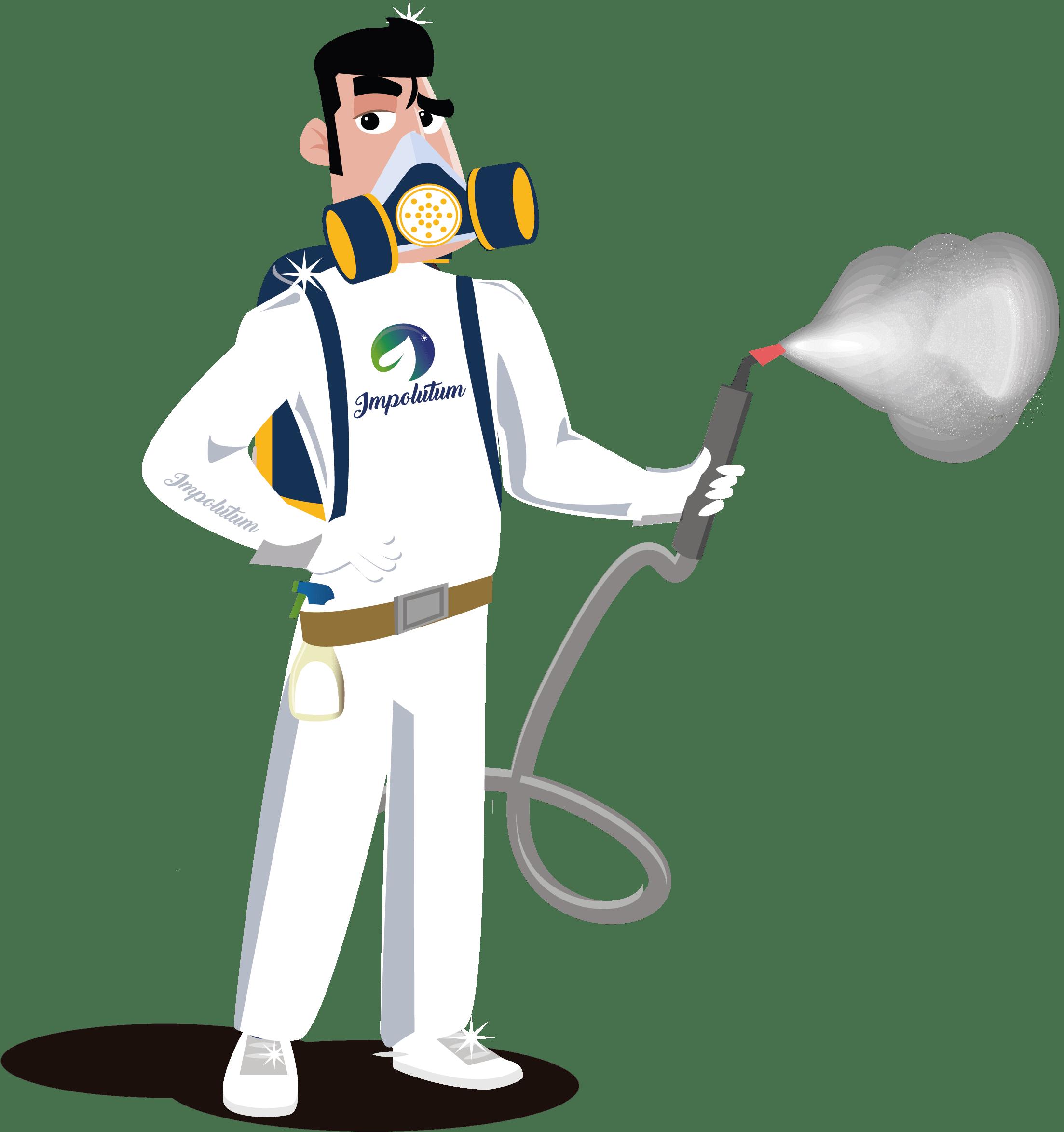 Desinfección por vapor, limpieza profunda, limpieza profesional, desinfecciones, eliminación del virus